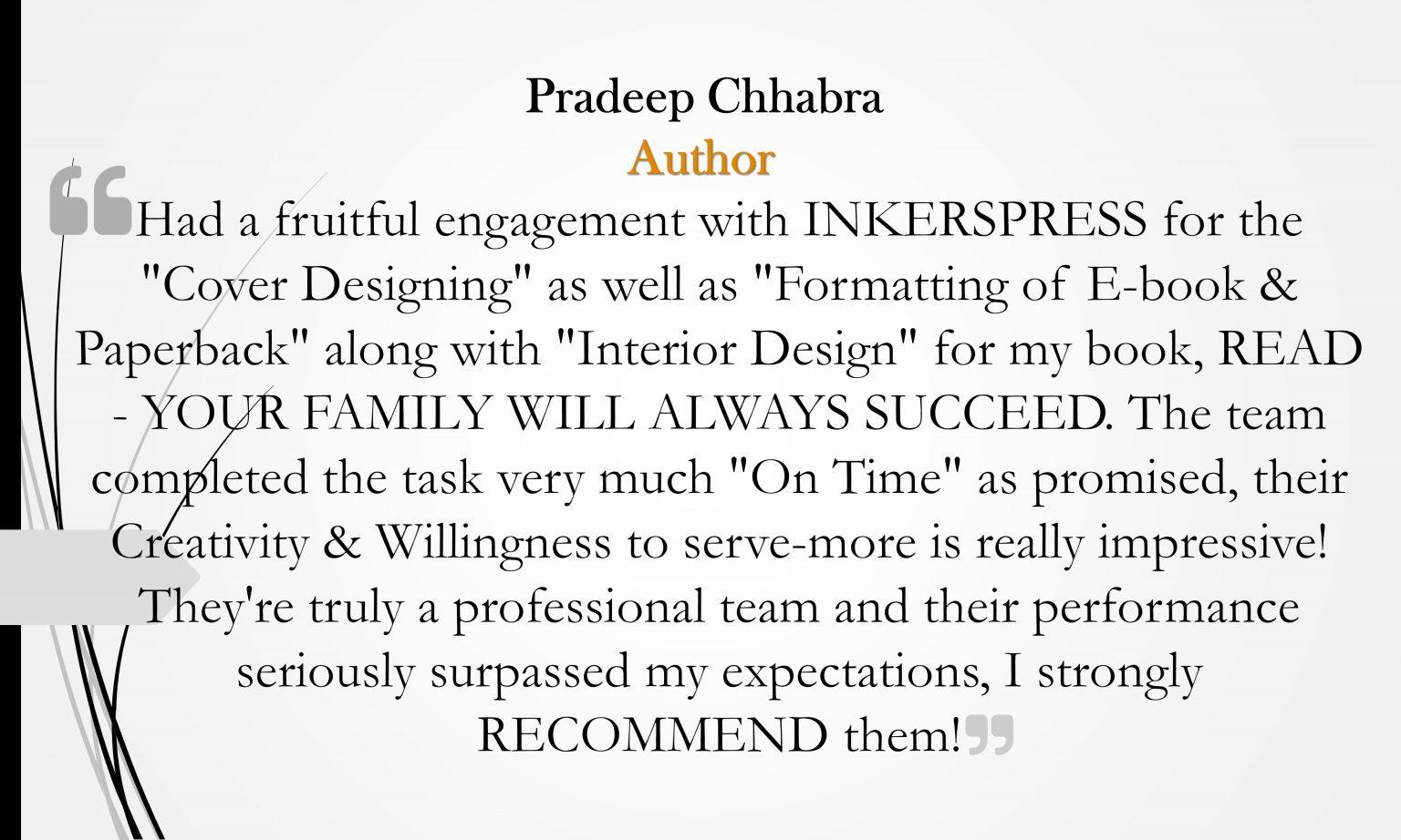 Pradeep Chhabra