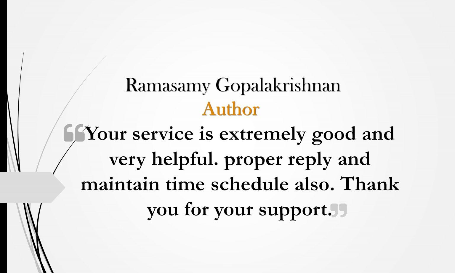 Ramasamy Gopalakrishnan